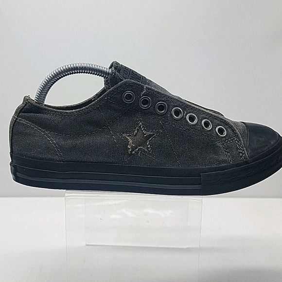 Men's Canvas Converse One-Star slip ons